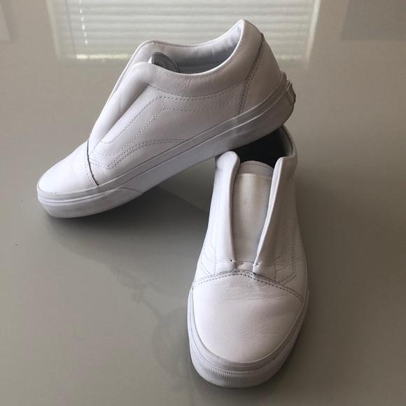 VANS Leather Old Skool Slip On Laceless Dx sneaker